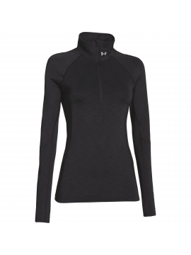 Dames UA ColdGear Cozy 1/2 zip