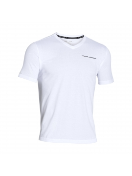 Under Armour Charged Cotton V-Neck Shirt Heren