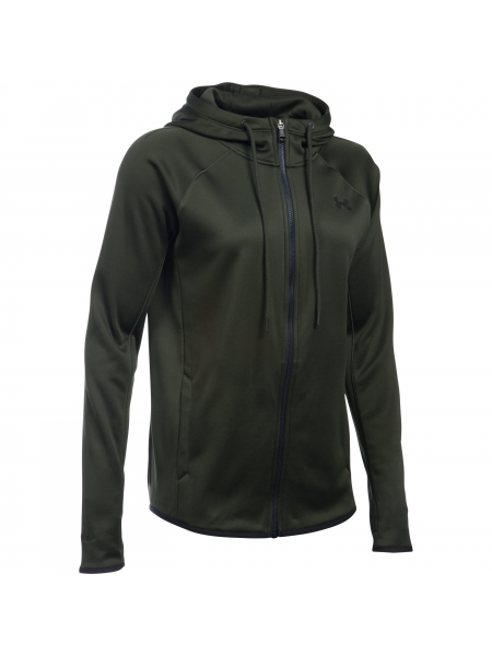 Dameshoodie UA Storm Armour Fleece Lightweight met volledige rits