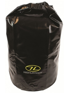 Highlander Tri Laminate Dry Bag Black 29L