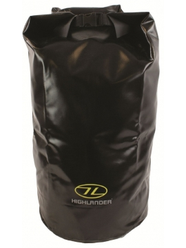 Highlander Tri Laminate Dry Bag Black 44L